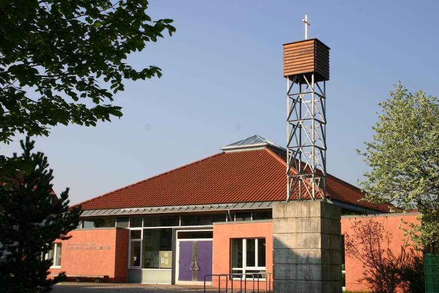 Die Katharina von Bora Kirche in Neukieritzsch