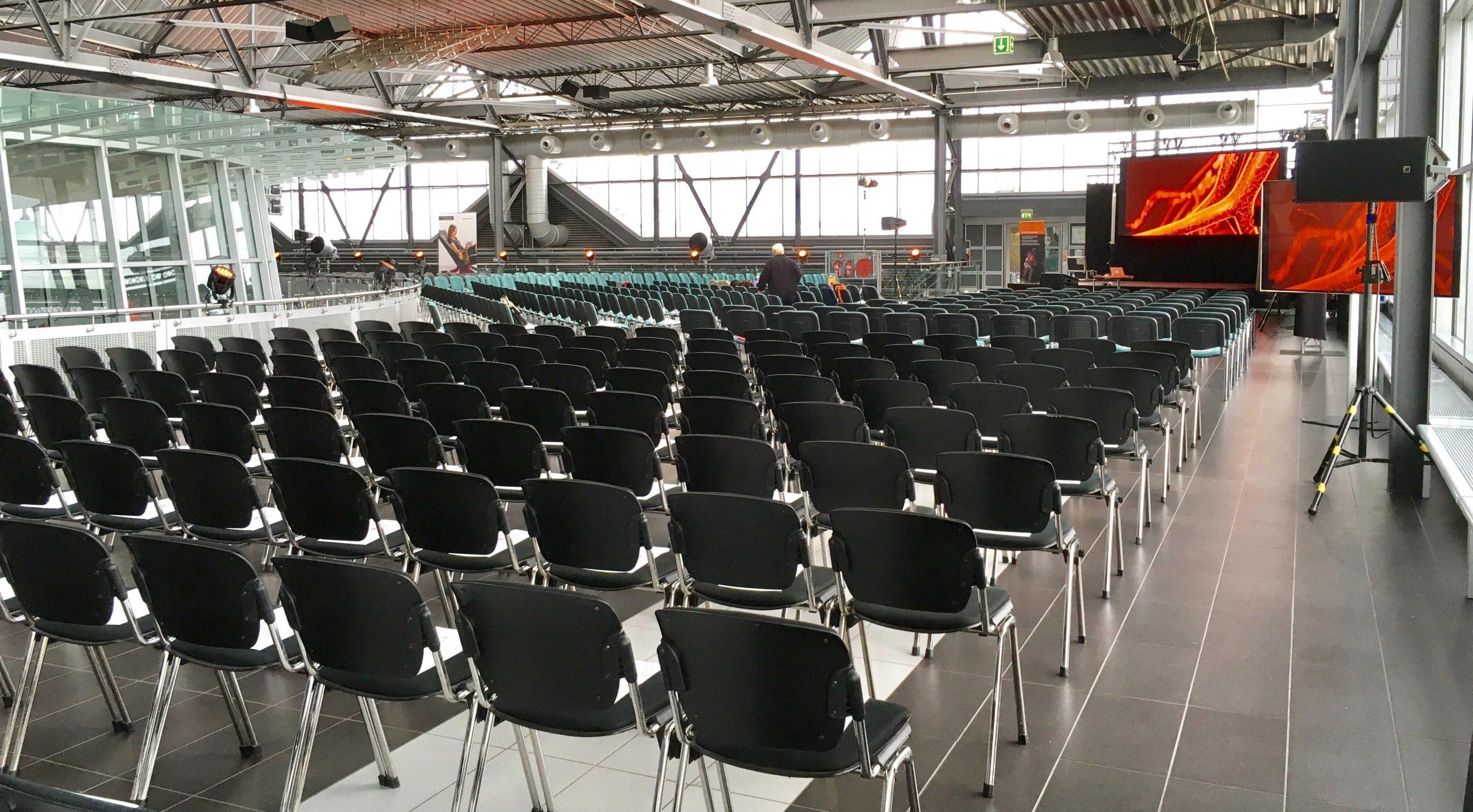 Veranstaltungsfläche Galerieebene auf dem Flughafen Dresden