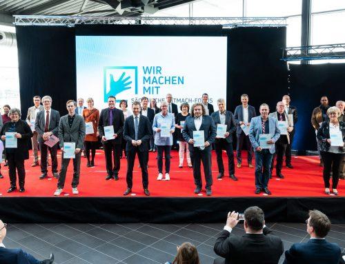 Preisträger der Sächsischen Mitmach-Fonds 2020 ausgezeichnet