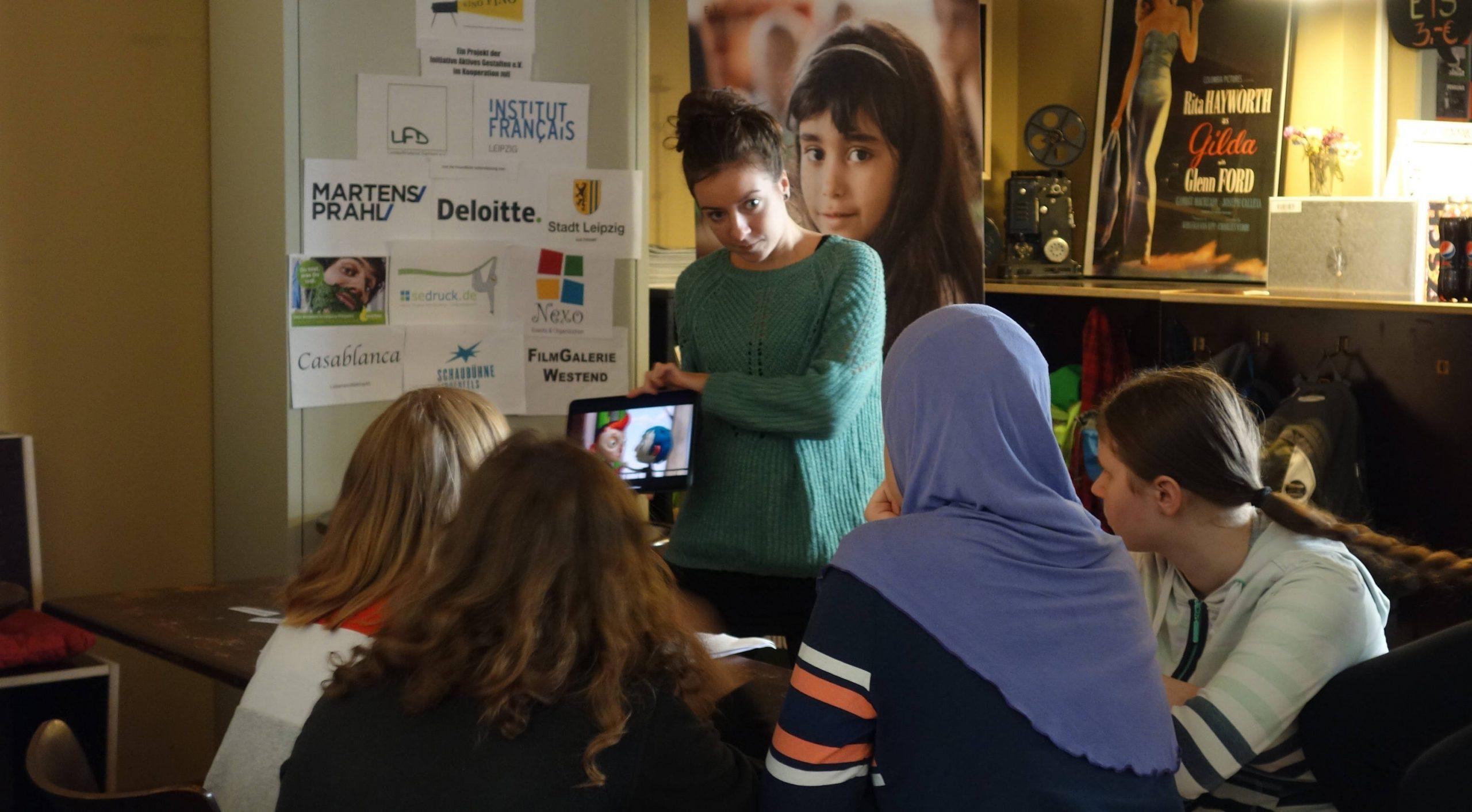 Beim Film Workshop werden die Themen besprochen