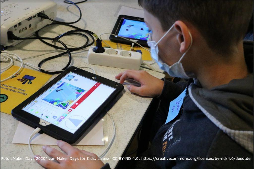 Das Peer-Programm der Maker Days for Kids im Herbst 2020